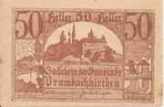 50 Heller (Prambachkirchen) -  obverse