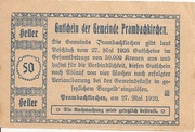 50 Heller (Prambachkirchen) -  reverse