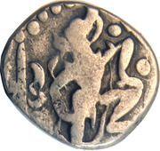 1 Drachm - Mihara Bhoja I (Gujara Pratiharas) -  obverse