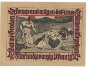 25 Pfennig (Baugenossenschaft-Eigenheim) – reverse