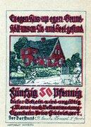 50 Pfennig (Baugenossenschaft Eigenheim) – obverse