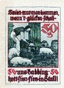 50 Pfennig (Baugenossenschaft Eigenheim) – reverse