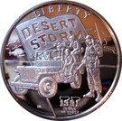 5 Dollars - Leonard I (U.S. Jeep) – reverse