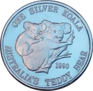 5 Dollars - Leonard I (Koala) – reverse