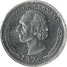 5 Cents - Leonard I – obverse