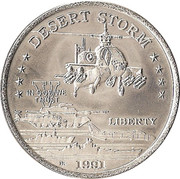 5 Dollars - Leonard I (AH64 Apache) – reverse