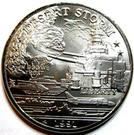 5 Dollars - Leonard I (Battleship U.S.S. Missouri) – obverse