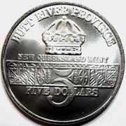 5 Dollars - Leonard I (Battleship U.S.S. Missouri) – reverse