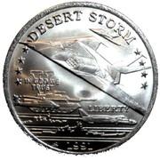 5 Dollars - Leonard I (F-117A Stealth Jet Fighter) – obverse