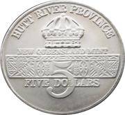 5 Dollars - Leonard I (U.S. Airborne Troops) – obverse