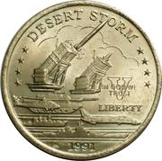 5 Dollars - Leonard I (U.S. Patriot Missile Batteries) – reverse