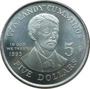 5 Dollars - Leonard I (W.A. 'Candy' Cummings) -  obverse
