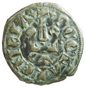 Denier - Philip II – obverse