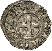 1 Denier - Philippe Ier de Tarente (1307-1313 – obverse