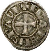 1 Denier - Florent de Hainaut (1289-1297) – obverse