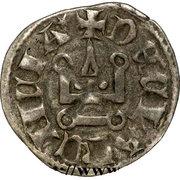 1 Denier - Florent de Hainaut (1289-1297) – reverse