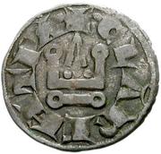 1 Denier - Charles I d'Anjou – reverse
