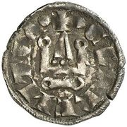 Denier - William II – reverse