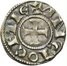 Denier - Raymond de Poitiers (Beardless) – reverse