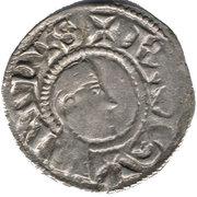 Denier - Raymond de Poitiers (Long neck) -  obverse