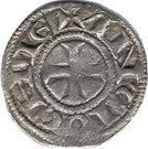 Denier - Raymond de Poitiers (Long neck) – reverse