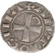 Denier à la Tête Casqué Classe A Bohemond III Majorité – reverse