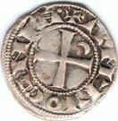 Denier à la Tête Casquée Classe B Bohemond III Majorité – reverse