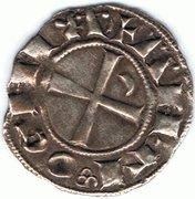 Denier à la Tête Casquée Classe E Bohemond III Majorité -  reverse