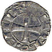 1 Denier - Bohemond III – reverse