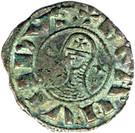 1 Denier - Bohemond III – obverse