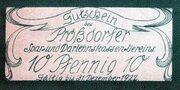 10 Pfennig (Prößdorfer Spar- und Darlehnskassen-Verein) – obverse