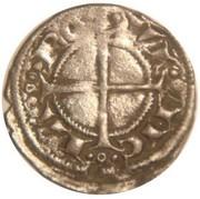 Denier d'Alphonse II d'Aragon-Gouverneur de Provence Comté de Provence – reverse