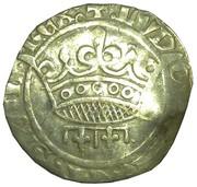 Sol coronat Louis II d'Anjou – obverse