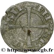 Obole - Charles Ier d'Anjou (avec croix coupant la légende) – reverse