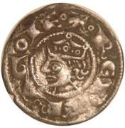 Denier d'Alphonse II d'Aragon-Gouverneur de Provence Comté de Provence – obverse