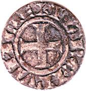 Denier Alphonse de Poitiers - Marquis de Provence – reverse