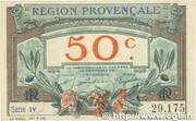 50 centimes - Région provençale – obverse