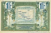 1 franc - Région provençale – reverse