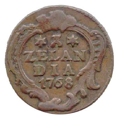 1 Duit. Nueva Zelanda. 1768 G10