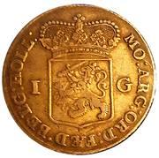 1 Gulden (Holland) – obverse