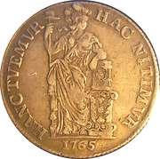 1 Gulden (Holland) – reverse