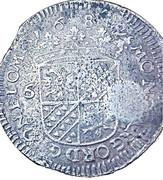 """6 Stuivers """"Rijderschelling"""" - countermarked – reverse"""