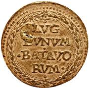 ¼ Gulden (Siege of Leiden) – reverse