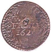 1 Duit (West-Friesland) – reverse