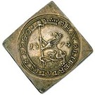 2 Taler (Siege of Leiden) – reverse