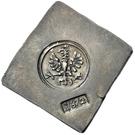 ½ Thaler (Klippe; Siege coinage) – obverse