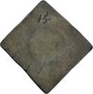 ½ Thaler (Klippe; Siege coinage) – reverse