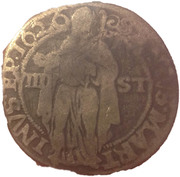 8 Stuivers or Achtstuiver – obverse