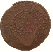 ½ Stuiver - Emergency coinage – obverse