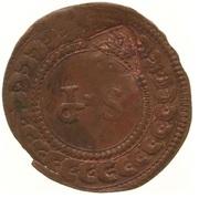 ½ Stuiver - Emergency coinage – reverse